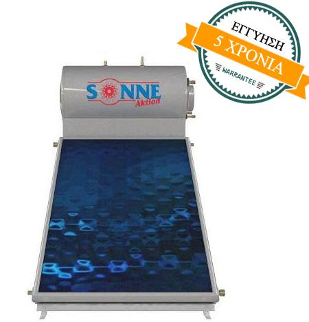 Sonne Phaethon 120lt/1,68m² glass – Τριπλής ενέργειας 660€